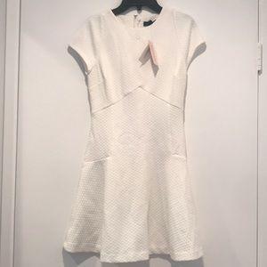 Banana Republic White A-line Dress